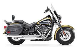Motorcycle Harley Davidson Heritage Softail