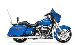 Motorcycle Harley Davidson Street Glide