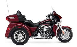 Motorcycle Harley Davidson Trike
