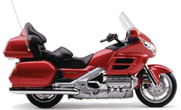 Motorcycle Honda Goldwing