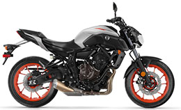 Motorcycle Yamaha MT-07