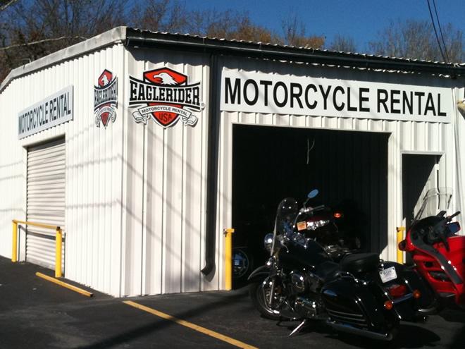 EagleRider Motorcycle Location in Atlanta BMW, Honda