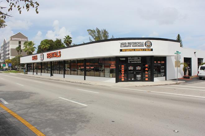 EagleRider Motorcycle Location in Fort Lauderdale