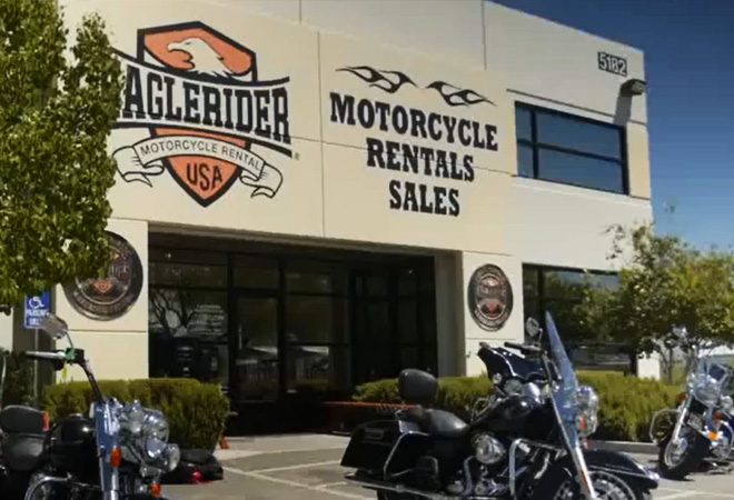 EagleRider Motorcycle Location in Las Vegas