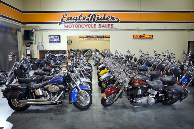 EagleRider Motorcycle Location in Los Angeles