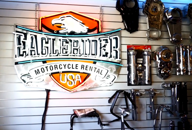 EagleRider Motorcycle Location in San Diego