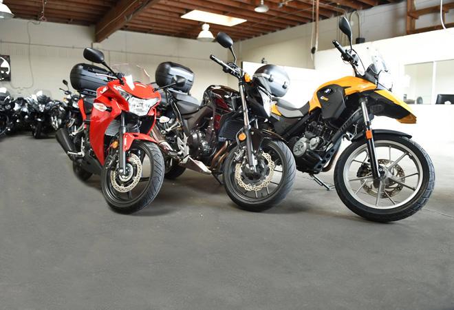 Motorcycle Rental Los Angeles Cheap