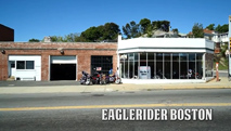 Eagle Rider Pickup Location in Boston