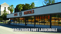 Eagle Rider Pickup Location in Fort Lauderdale