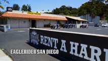 Eagle Rider Pickup Location in San Diego