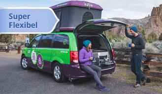 USA Road Bear rent a camper