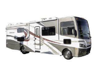 Motorhome MA34 (31-34 ft) of Mighty Campers